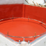 Secondary Containment Tank coated with a chemical resistance coating