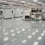 Industrial Floor Coating on a pharmaceutical floor