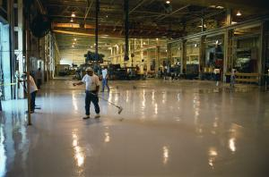 Wolverine Coatings Corporation - Showroom - Polymer Flooring