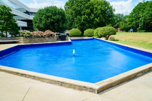 NorthChase Fountain - SC Upstate Manufacturer -Wolverine Coatings Corporation - 1-A2 - During