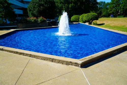 NorthChase Fountain - SC Upstate Manufacturer -Wolverine Coatings Corporation - 1-B- After