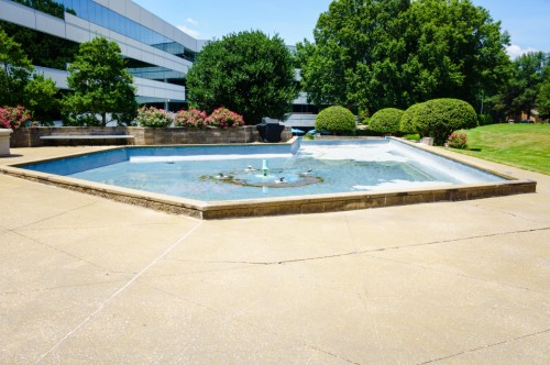 NorthChase Fountain - SC Upstate Manufacturer -Wolverine Coatings Corporation - 11-A - Before
