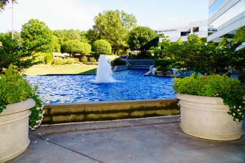 NorthChase Fountain - SC Upstate Manufacturer -Wolverine Coatings Corporation - 20-B - After