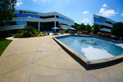 NorthChase Fountain - SC Upstate Manufacturer -Wolverine Coatings Corporation - 6-A - Before